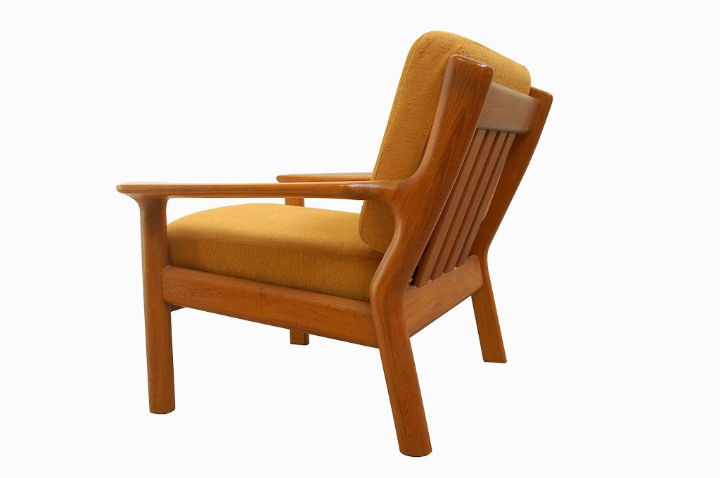 Teak Lounge Chair by Glostrup Furniture 1960s for sale at