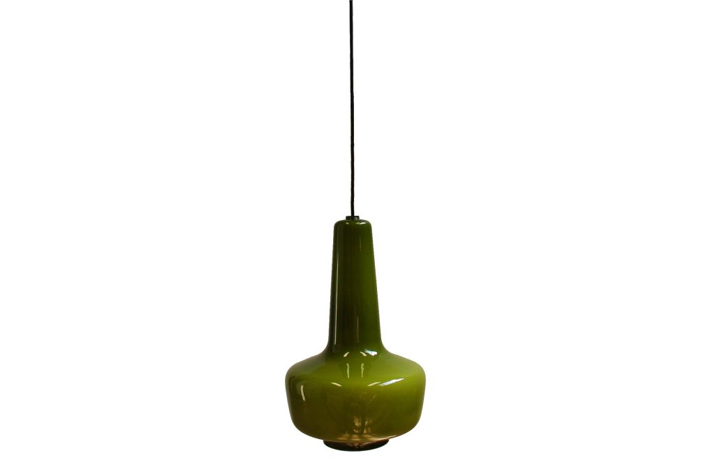 green kreta pendant lamp by jacob e bang for fog and