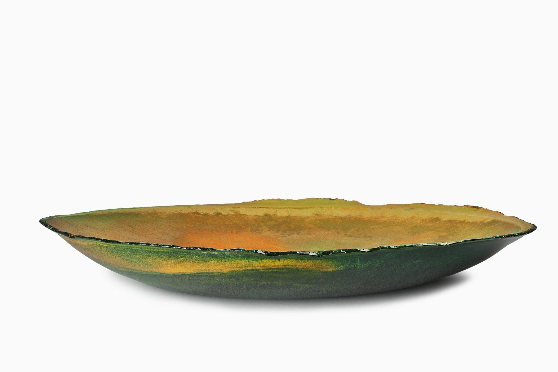 Balloon Bowl In Green By Maarten De Ceulaer
