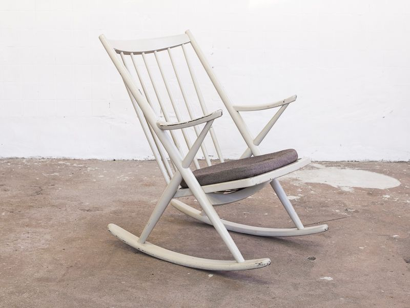 Danish Rocking Chair for sale at Pamono