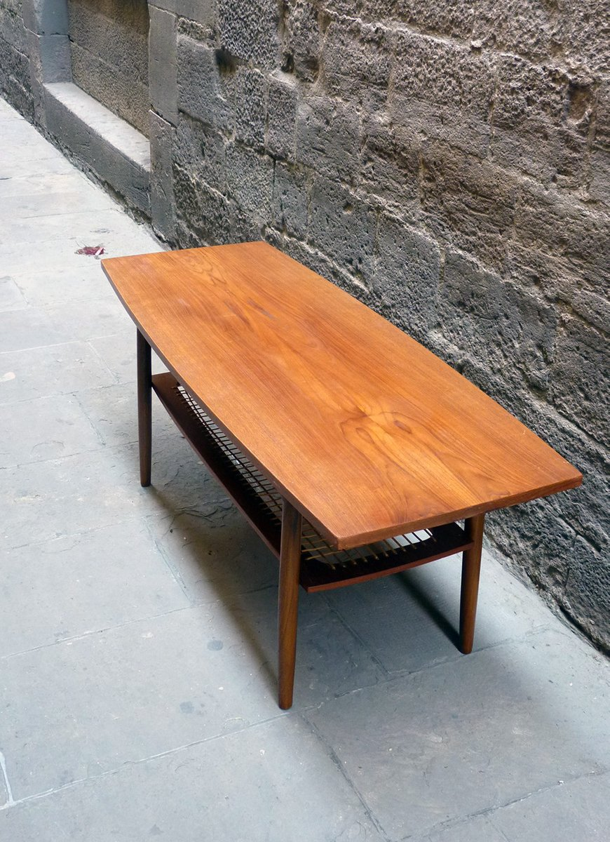 mid century danish coffee table for sale at pamono. Black Bedroom Furniture Sets. Home Design Ideas