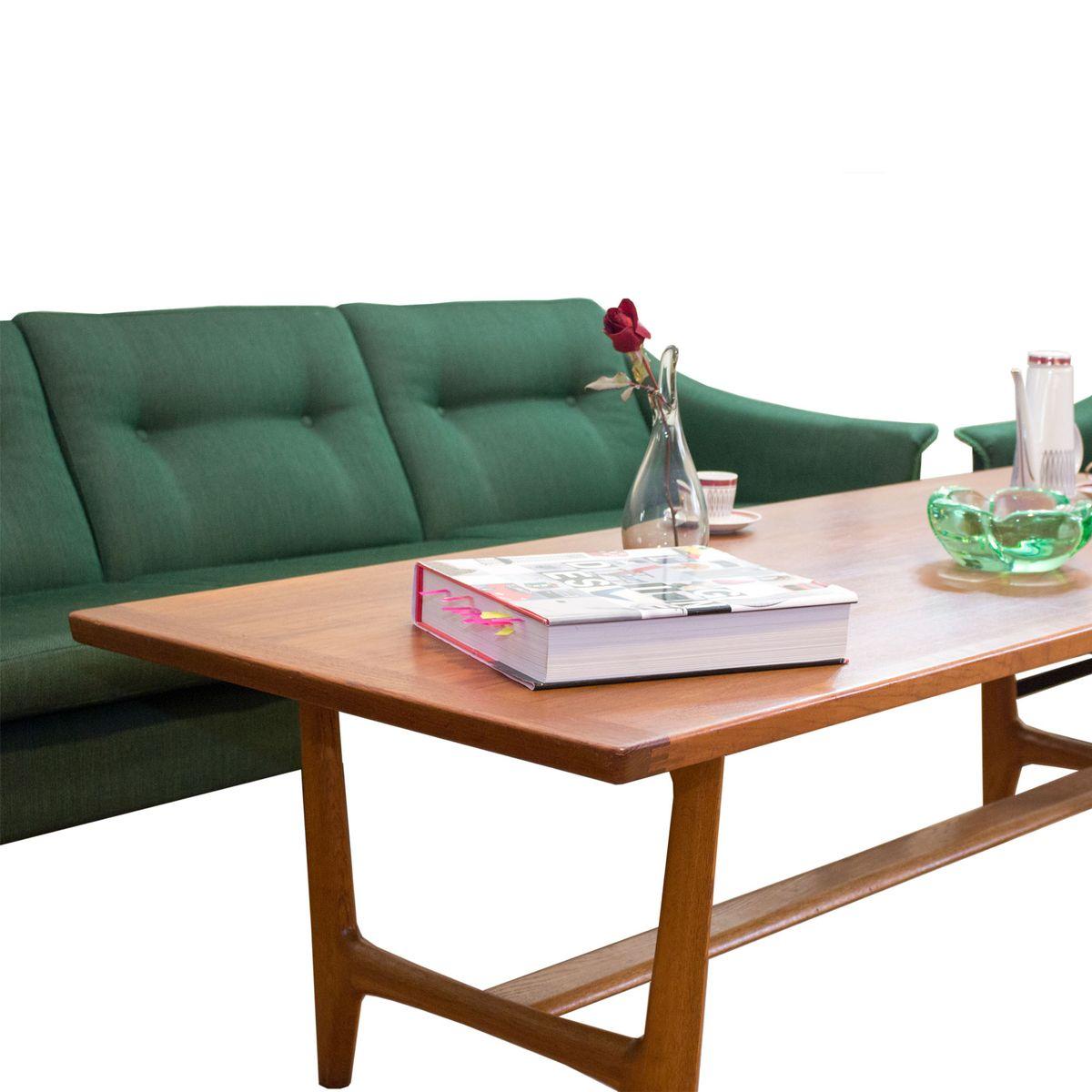 Norwegian mid century sofa by torbj rn afdal for stranda for Sofa table rules