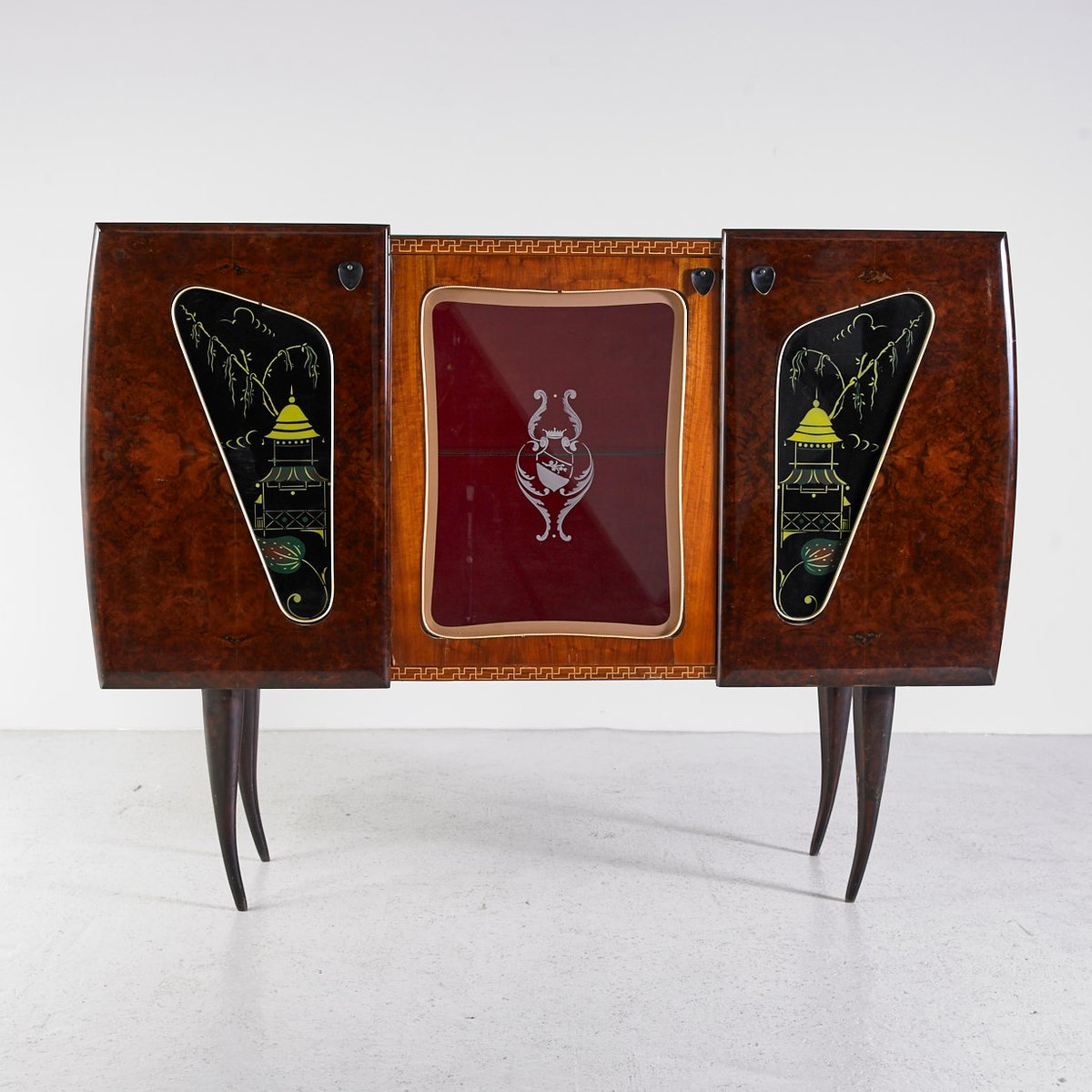 vintage italian commode 1970s for sale at pamono. Black Bedroom Furniture Sets. Home Design Ideas