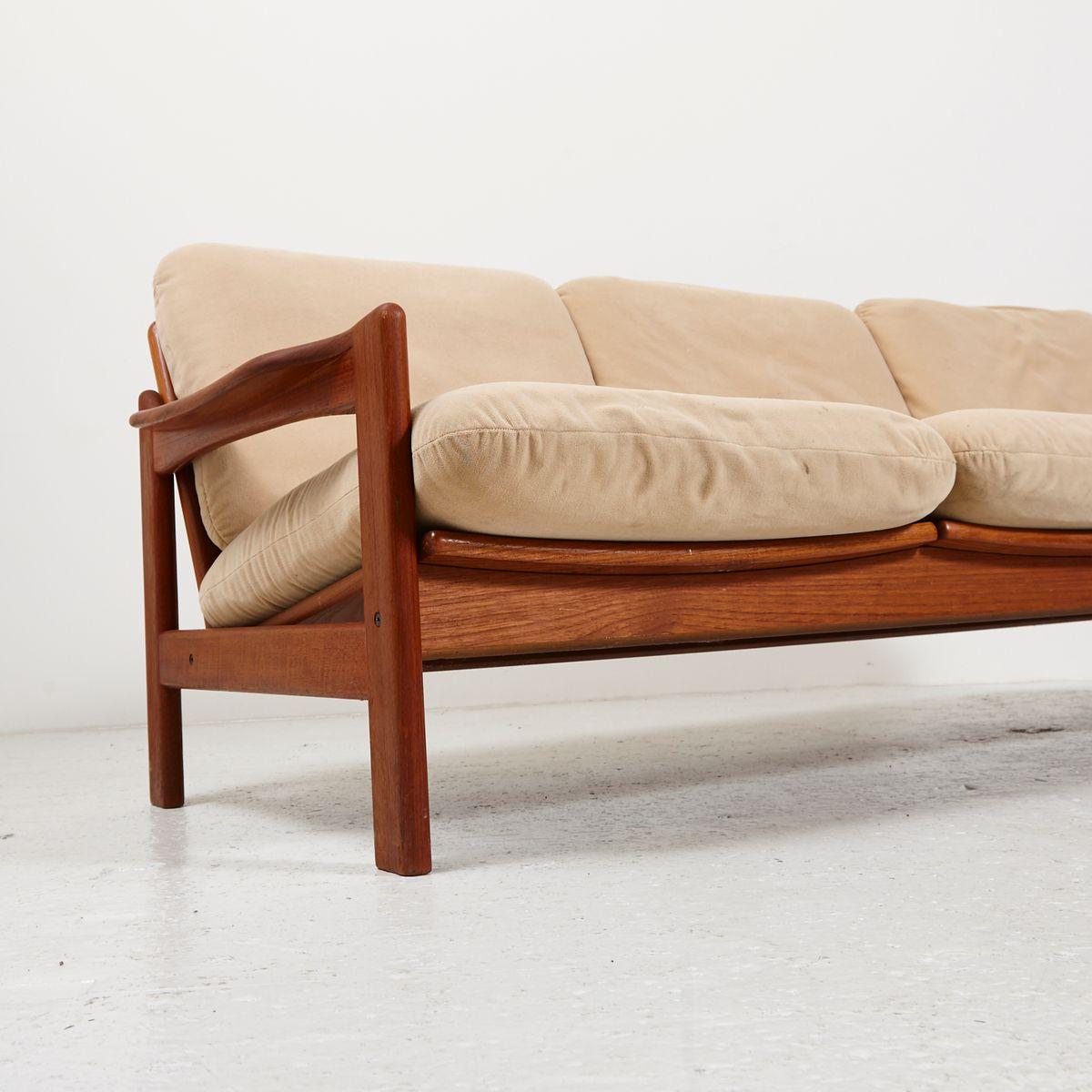 danish teak living room set 1970s for sale at pamono. Black Bedroom Furniture Sets. Home Design Ideas
