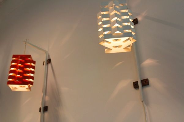 Star Wall Lights by Esmann & Jensen for Nordisk, Set of 2 for sale at Pamono