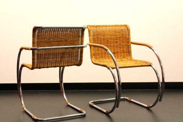 Mr Side Chair By Ludwig Mies Van Der Rohe For Thonet For