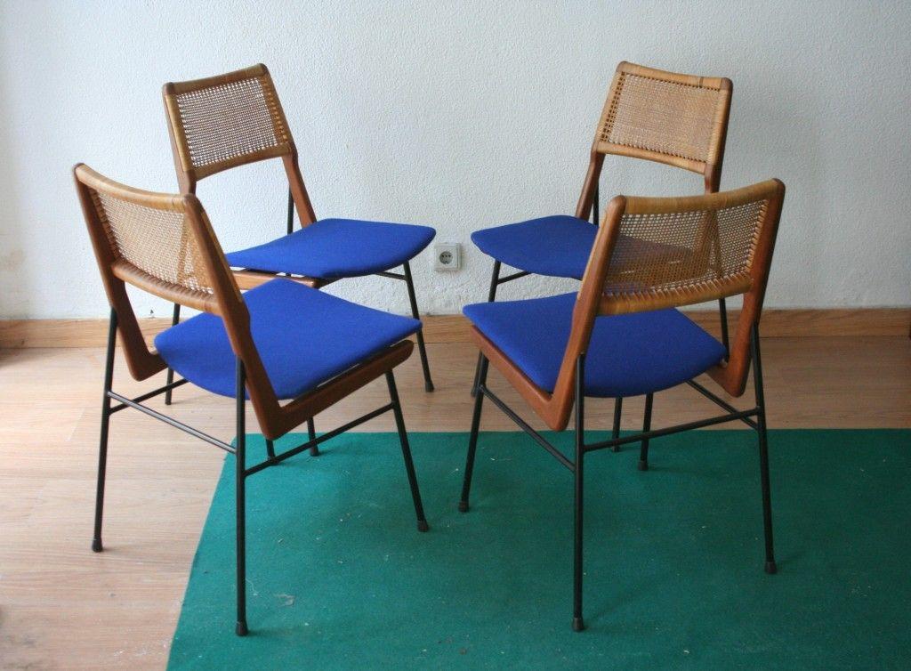 esszimmerst hle von habeo 4er set bei pamono kaufen. Black Bedroom Furniture Sets. Home Design Ideas