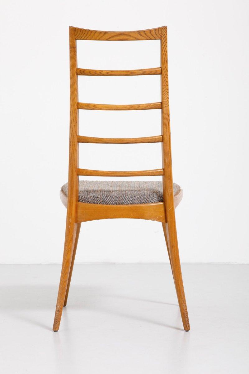 esszimmerst hle aus eichenbaum 6er set bei pamono kaufen. Black Bedroom Furniture Sets. Home Design Ideas
