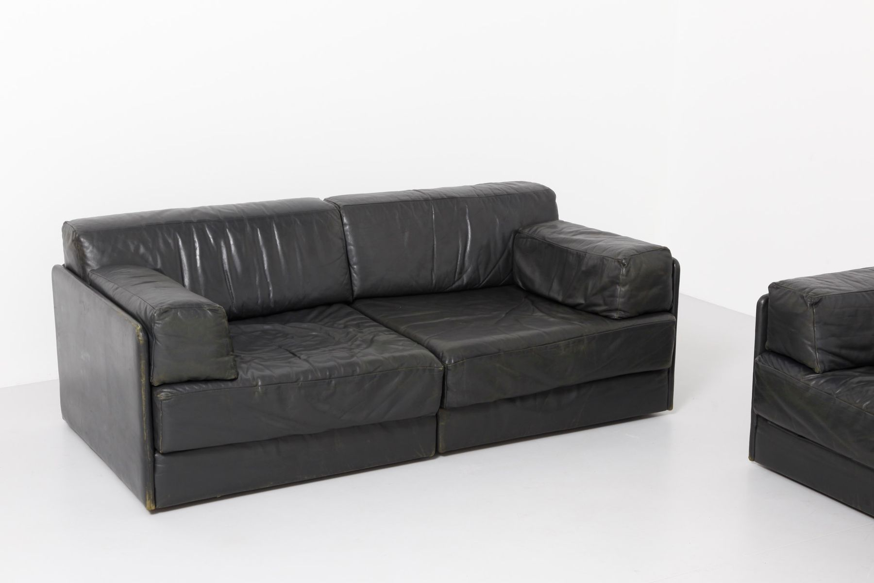 ds 76 sofa elemente von de sede 1960er 5er set bei pamono kaufen. Black Bedroom Furniture Sets. Home Design Ideas