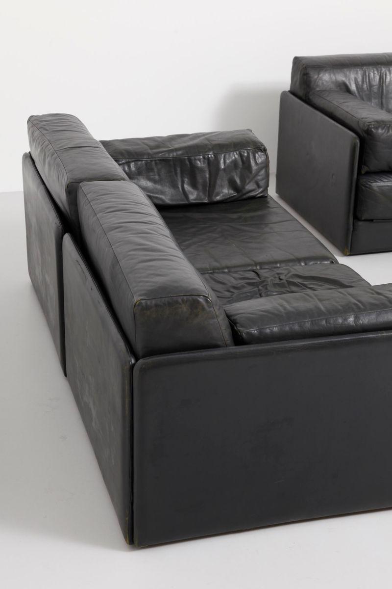 ds 76 sofa elemente von de sede 1960er 5er set bei pamono kaufen. Black Bedroom Furniture Sets. Home Design Ideas