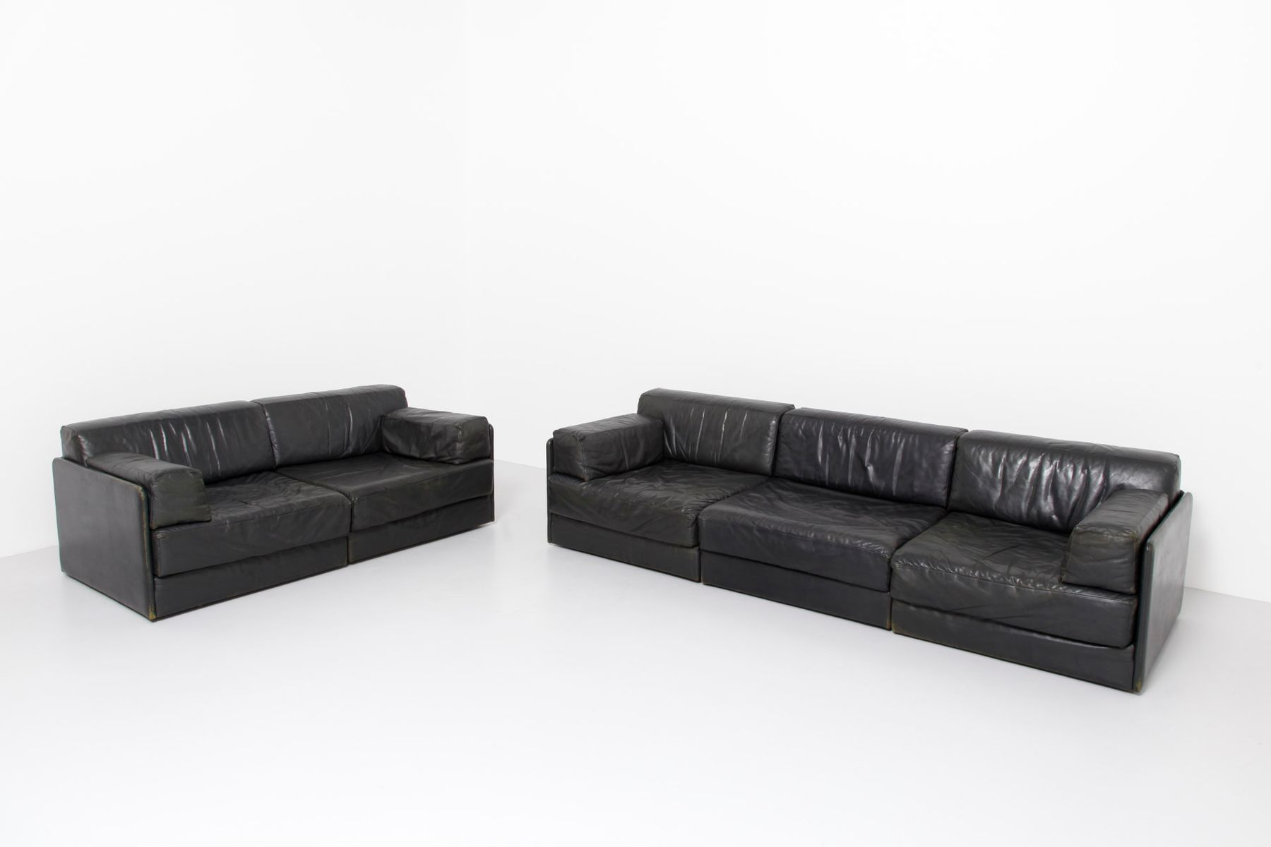ds 76 sofa elemente von de sede 1960er 5er set bei. Black Bedroom Furniture Sets. Home Design Ideas