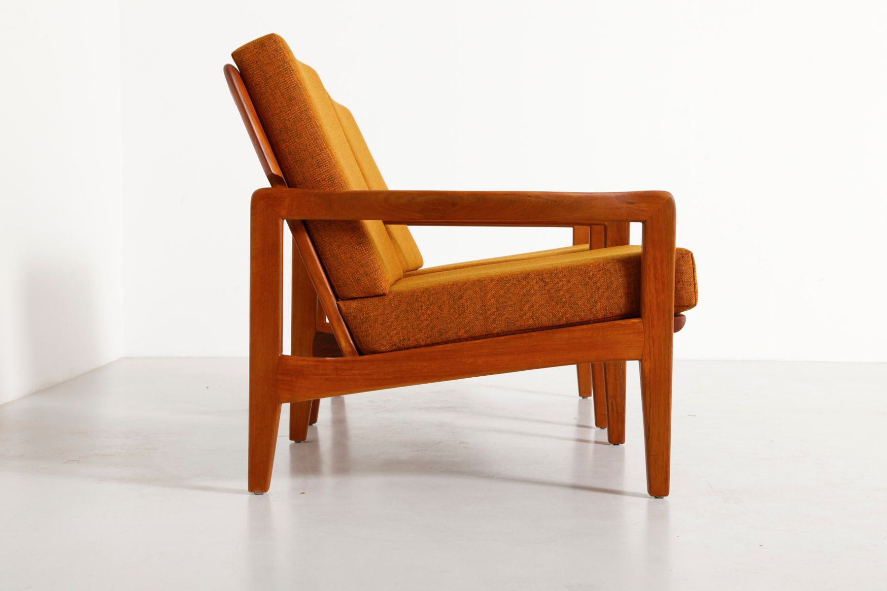 Teak armchairs from eilersen 1960s set of 2 for sale at for 2 armchairs for sale