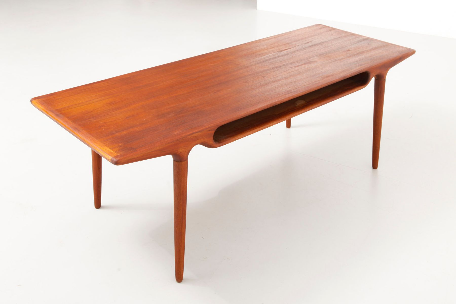 Mid Century Coffee Table By Johannes Andersen 1950s For Sale At Pamono