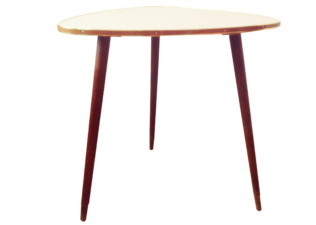 Vintage german formica side table for sale at pamono for Formica table