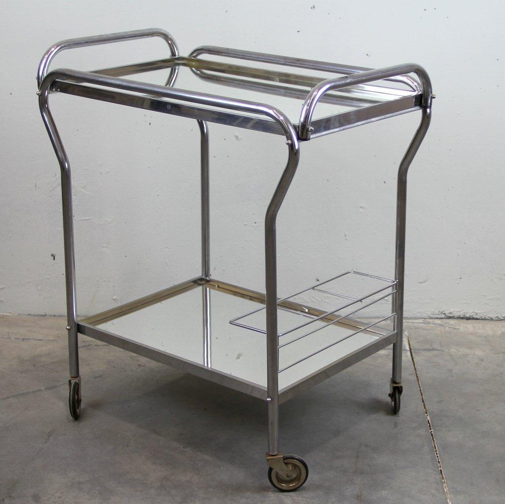 vintage art deco bar servierwagen bei pamono kaufen. Black Bedroom Furniture Sets. Home Design Ideas