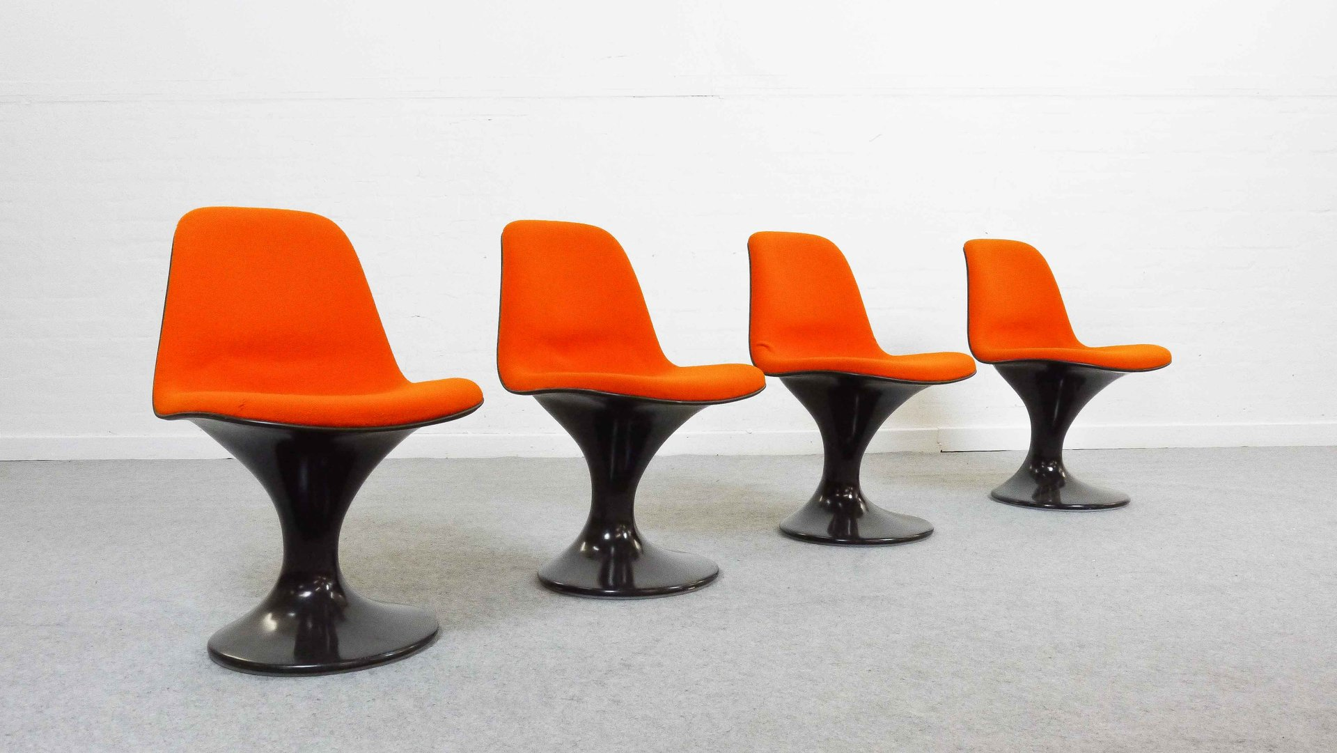 Mid Century Orbit Chairs by Markus Farner & Walter Grunder for