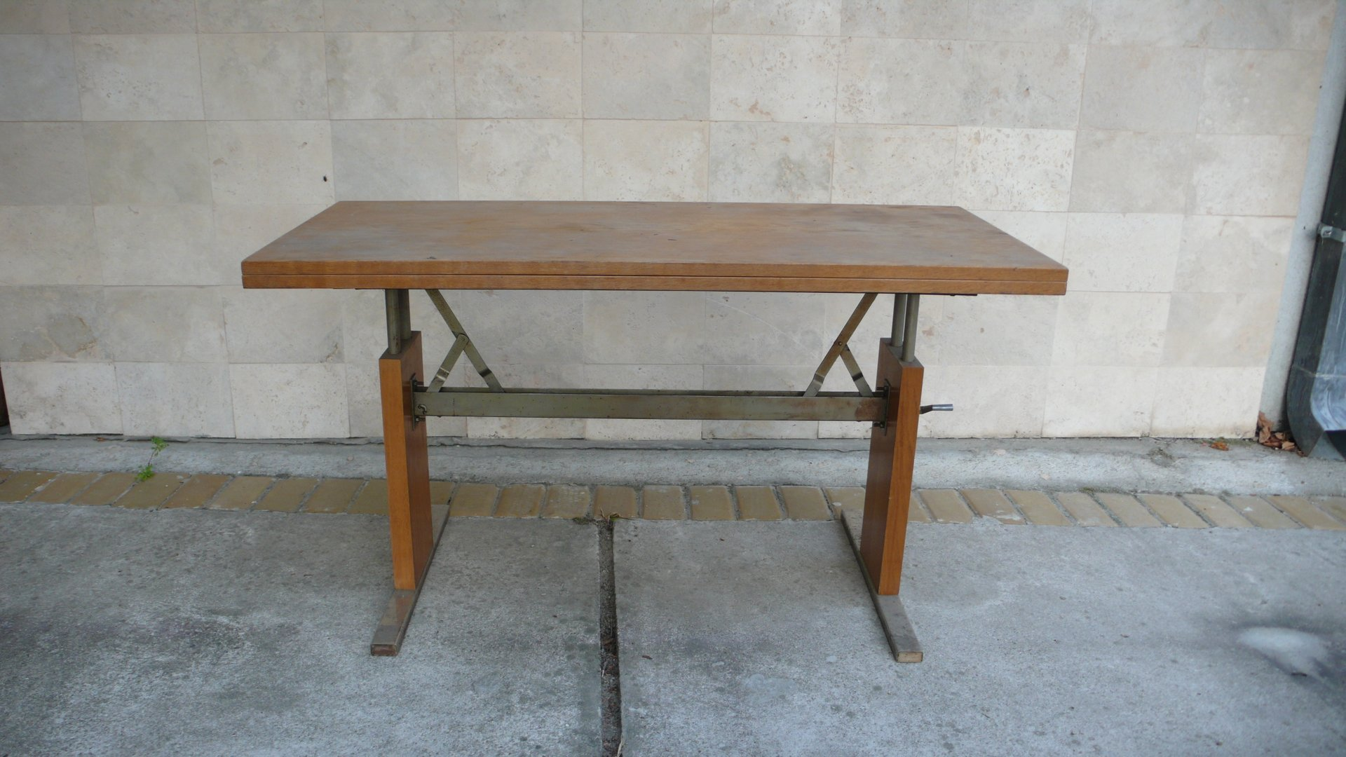 Machine Age Expandable Coffee And Dining Table 1950s For Sale At Pamono
