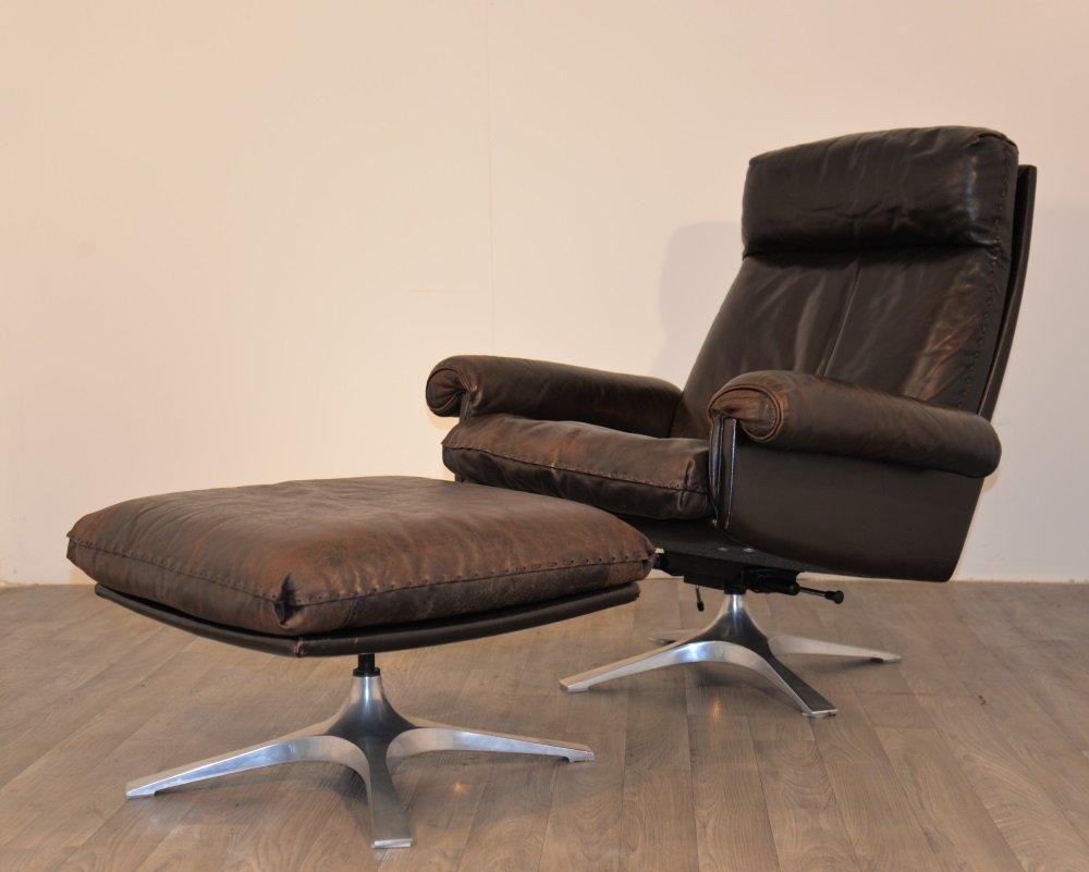Ds 31 lounge stuhl mit hoher lehne f r de sede bei pamono for Stuhl mit hoher lehne