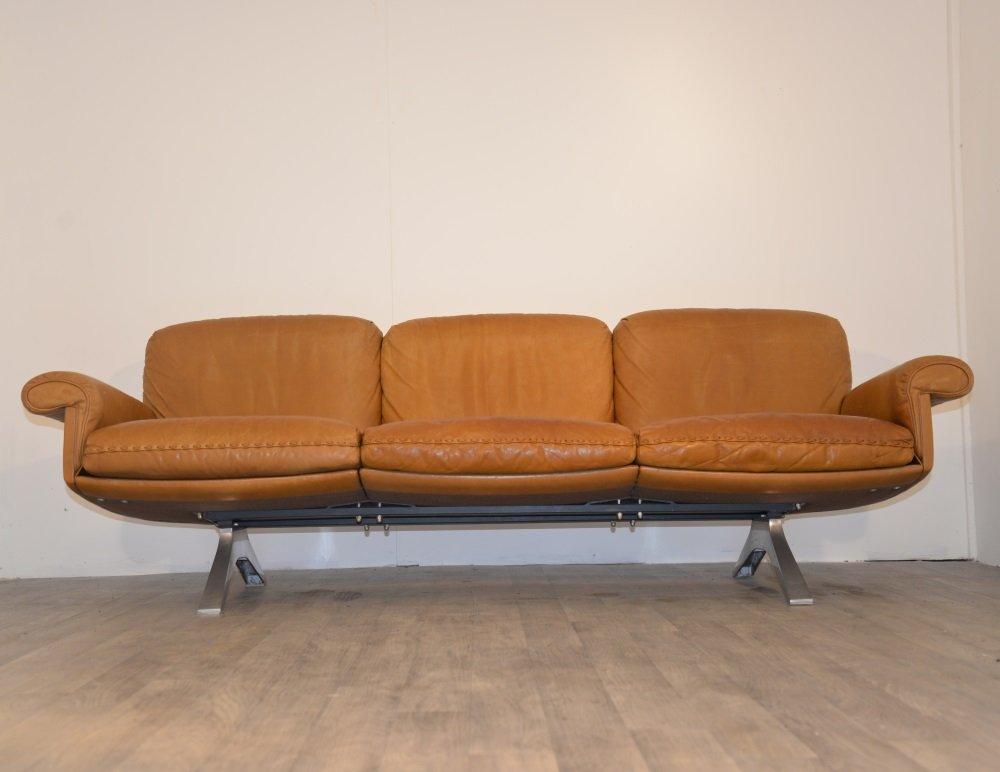 ds 31 vintage 3 seater sofa for de sede for sale at pamono. Black Bedroom Furniture Sets. Home Design Ideas