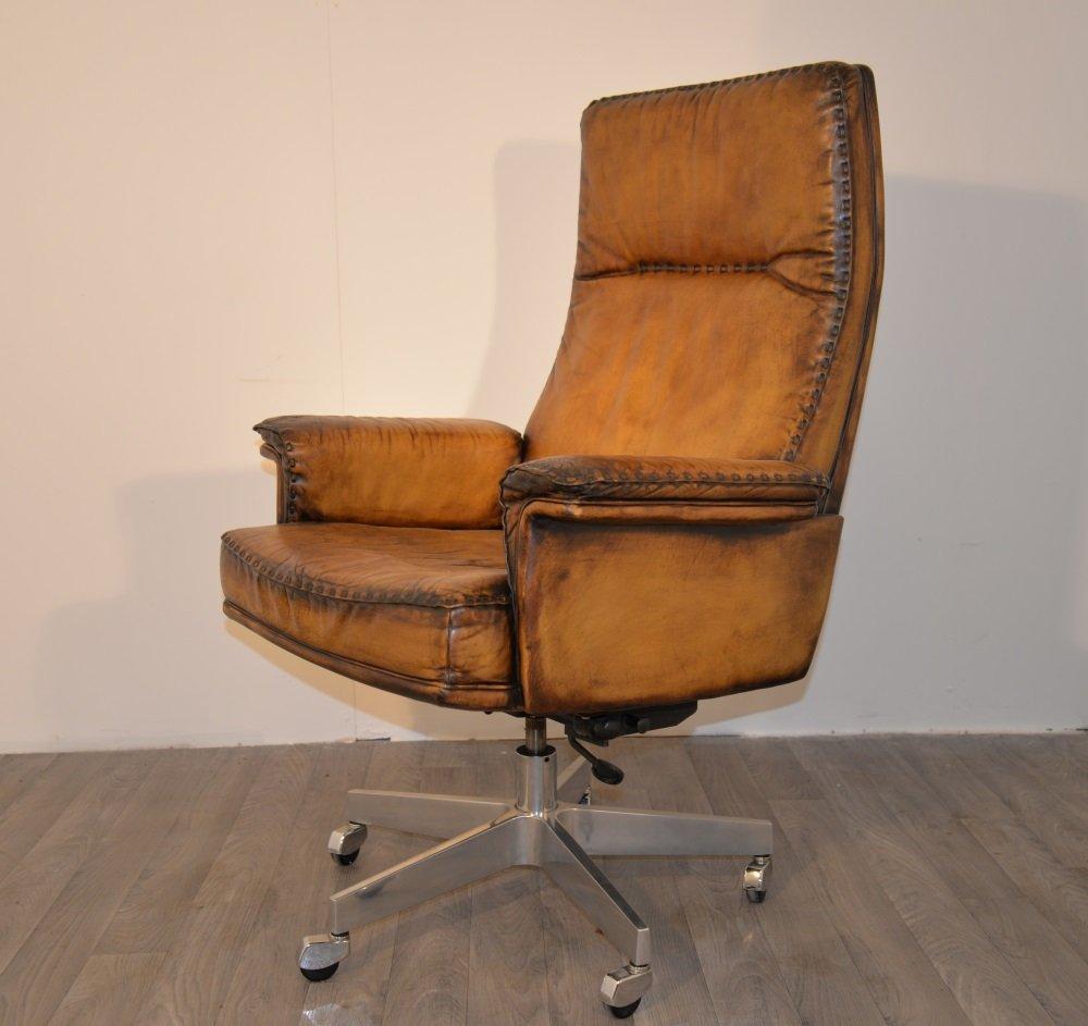 ds 31 vintage schreibtischstuhl von de sede bei pamono kaufen. Black Bedroom Furniture Sets. Home Design Ideas