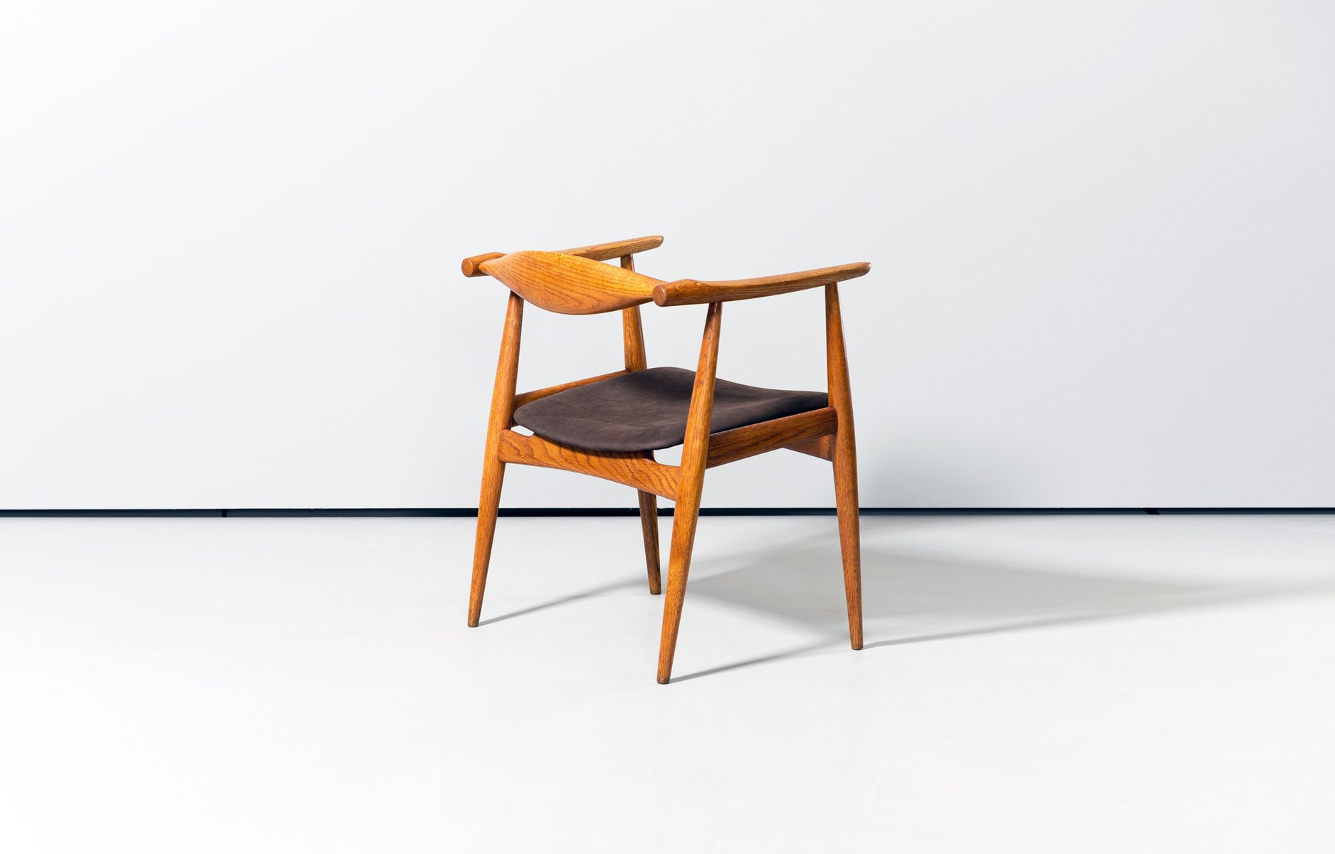 CH35 Dining Chairs by Hans J Wegner for Carl Hansen 1960s Set