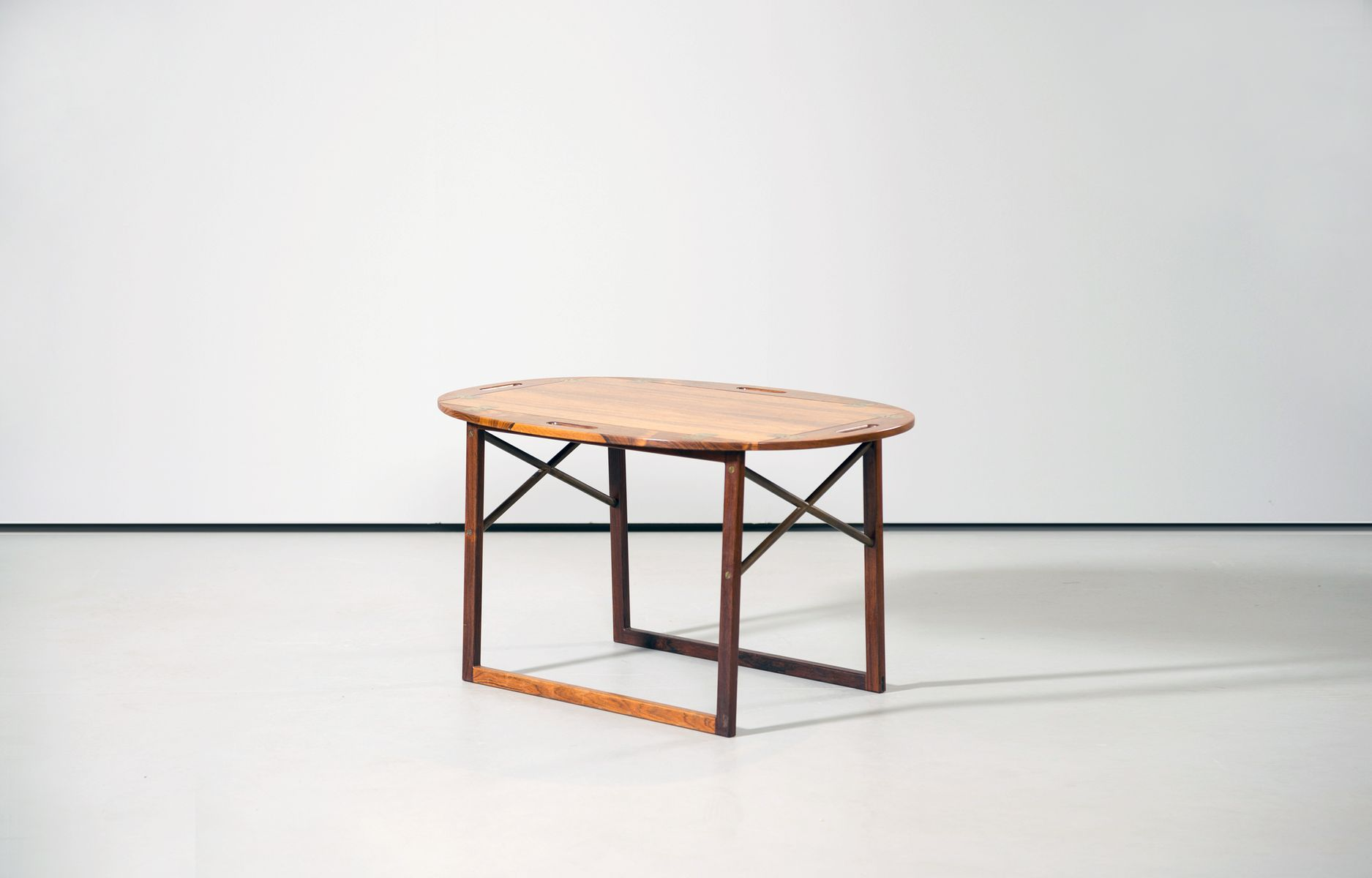 Butler Tray Coffee Table Rosewood Butlers Tray Side Table By Svend Langkilde For Illums