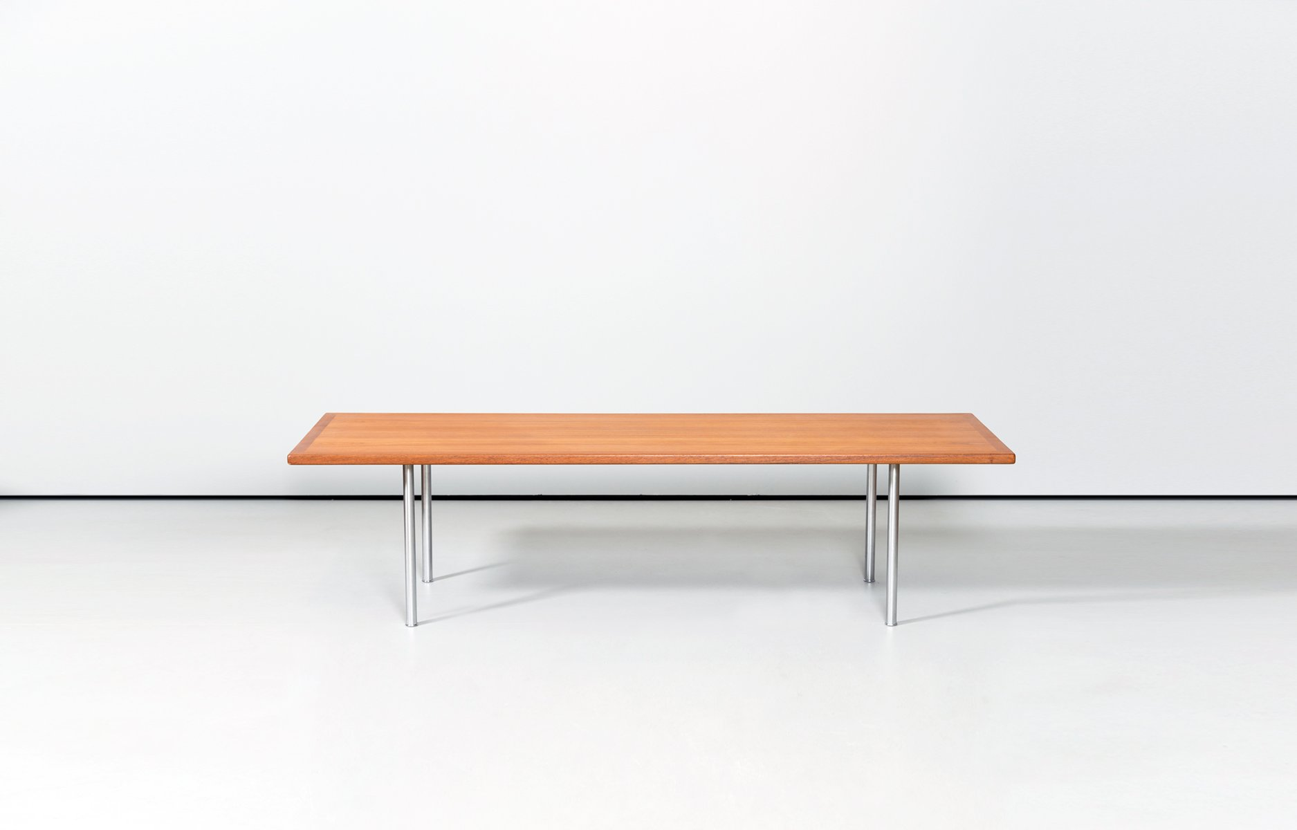 Scandinavian Teak Coffee Table by Hans J Wegner for Andreas Tuck