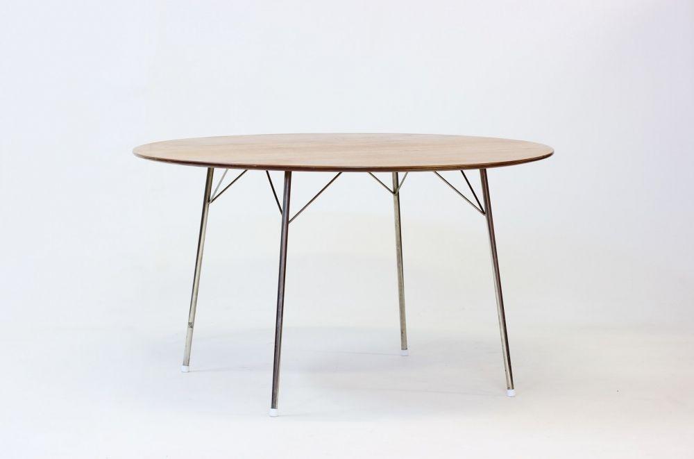 3600 tisch von arne jacobsen f r fritz hansen 1950er bei pamono kaufen. Black Bedroom Furniture Sets. Home Design Ideas
