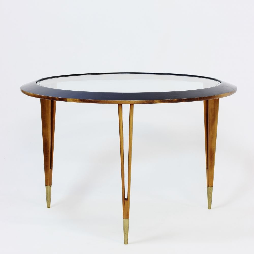 Coffee Table 1950s: Mid-Century Mahogany Coffee Table, 1950s For Sale At Pamono