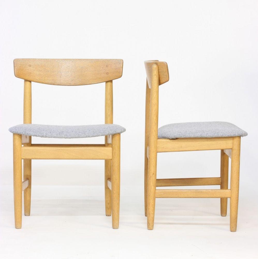 shaker esszimmerstuhl von b rge mogensen f r karl. Black Bedroom Furniture Sets. Home Design Ideas
