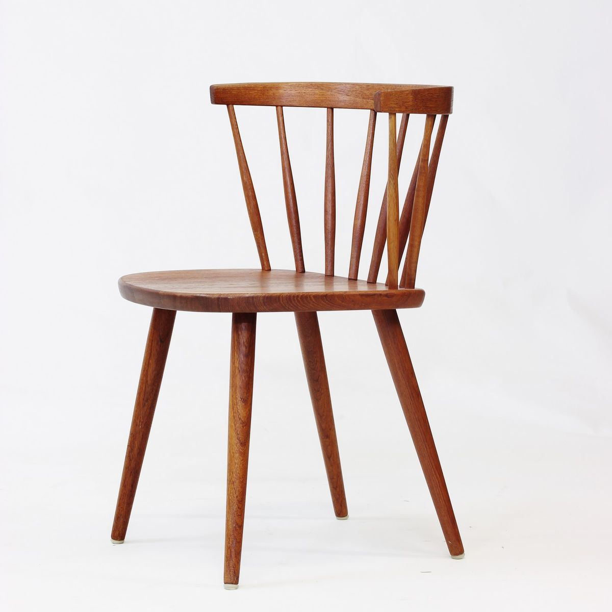 Vintage Dining Chair and Armchair Set by Yngve Ekström for Stolab for sale at Pamono