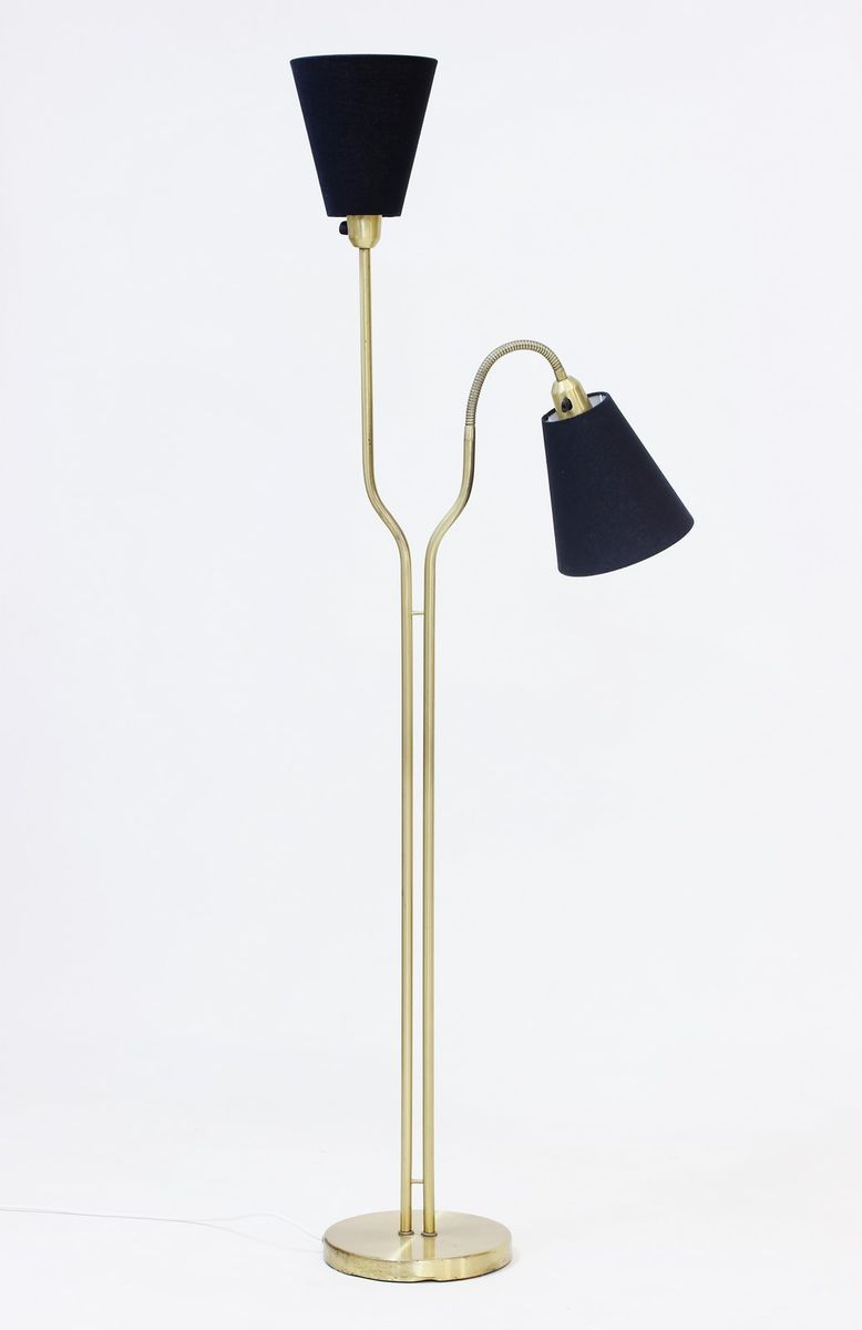 Floor Lamp 1960s : Mid century brass floor lamp from asea s for sale at