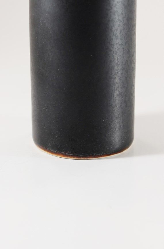 ciel noir vase by carl harry st lhane for r rstrand 1950s. Black Bedroom Furniture Sets. Home Design Ideas