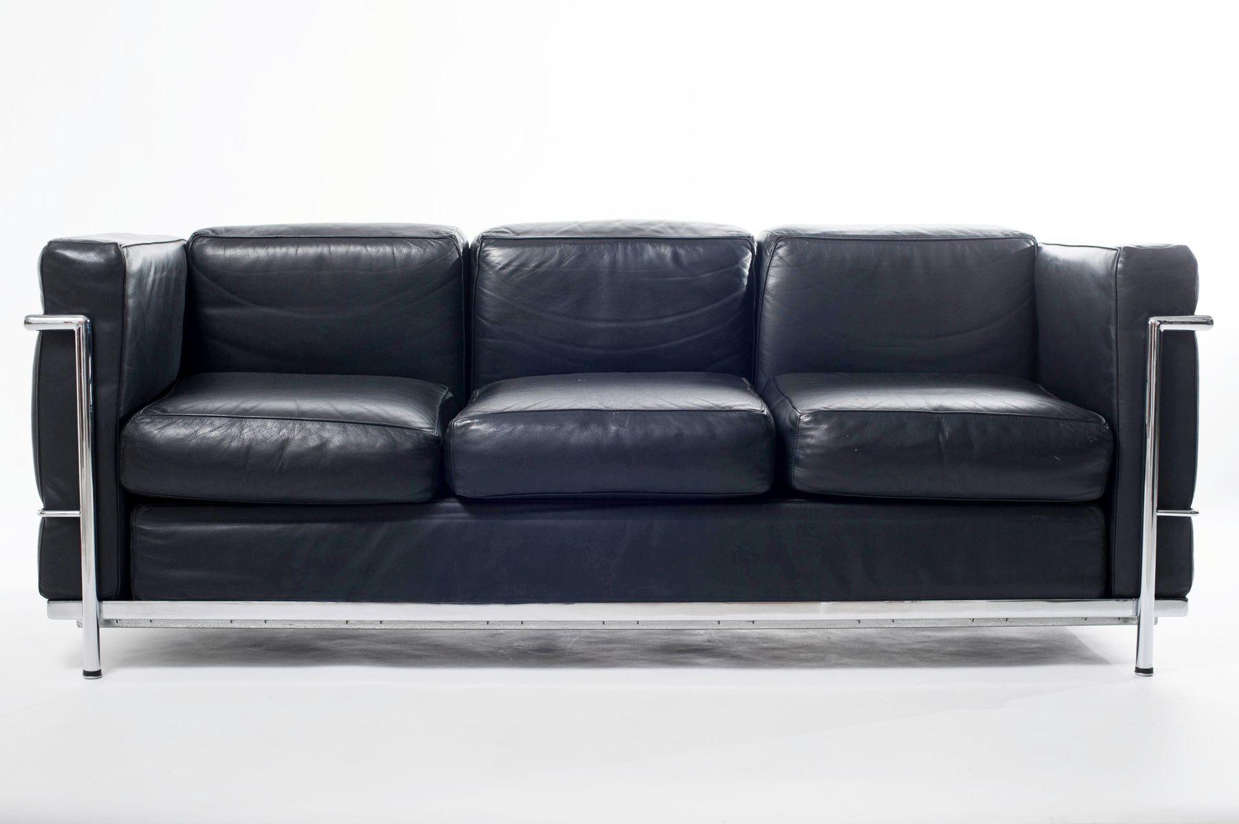 lc3 sofa von le corbusier f r alivar bei pamono kaufen. Black Bedroom Furniture Sets. Home Design Ideas