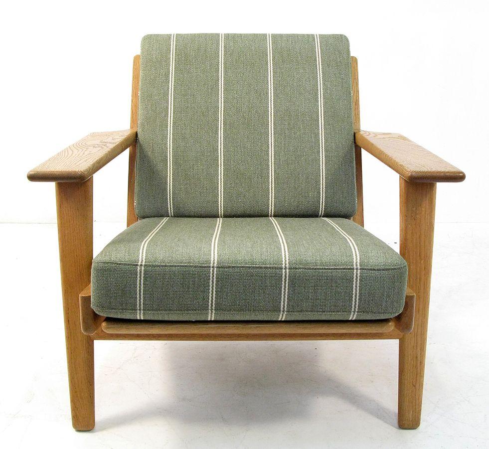 ge 290 sessel von hans j wegner f r getama bei pamono kaufen. Black Bedroom Furniture Sets. Home Design Ideas