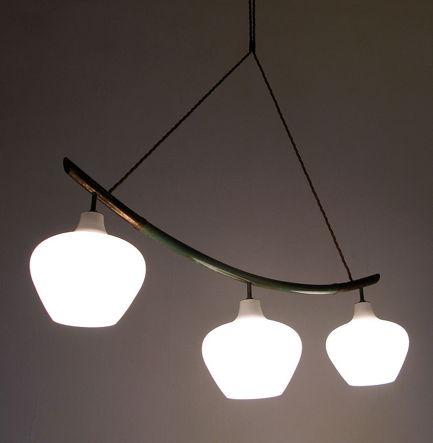 Italian Hanging String Lights : Italian Arc Hanging Light from Stilnovo for sale at Pamono