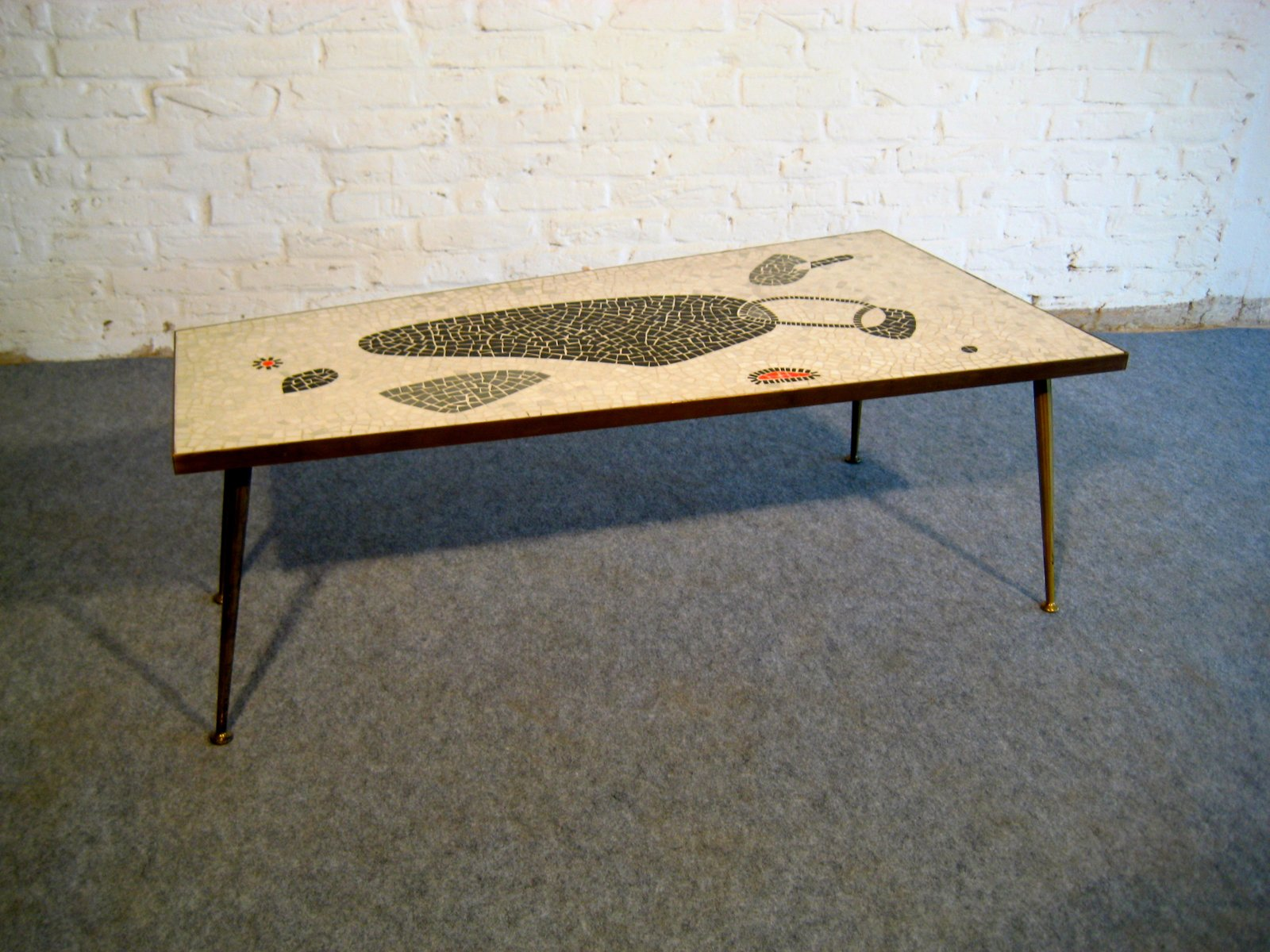 Mid Century Mosaic Coffee Table, 1950s