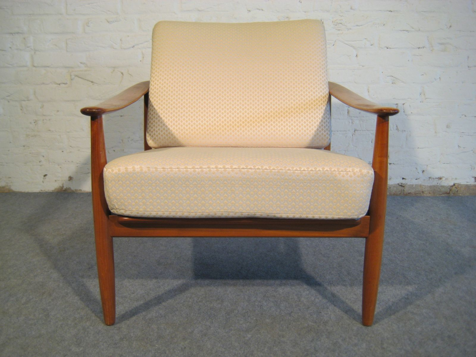Mid century modern easy chair 1950s for sale at pamono for Z chair mid century