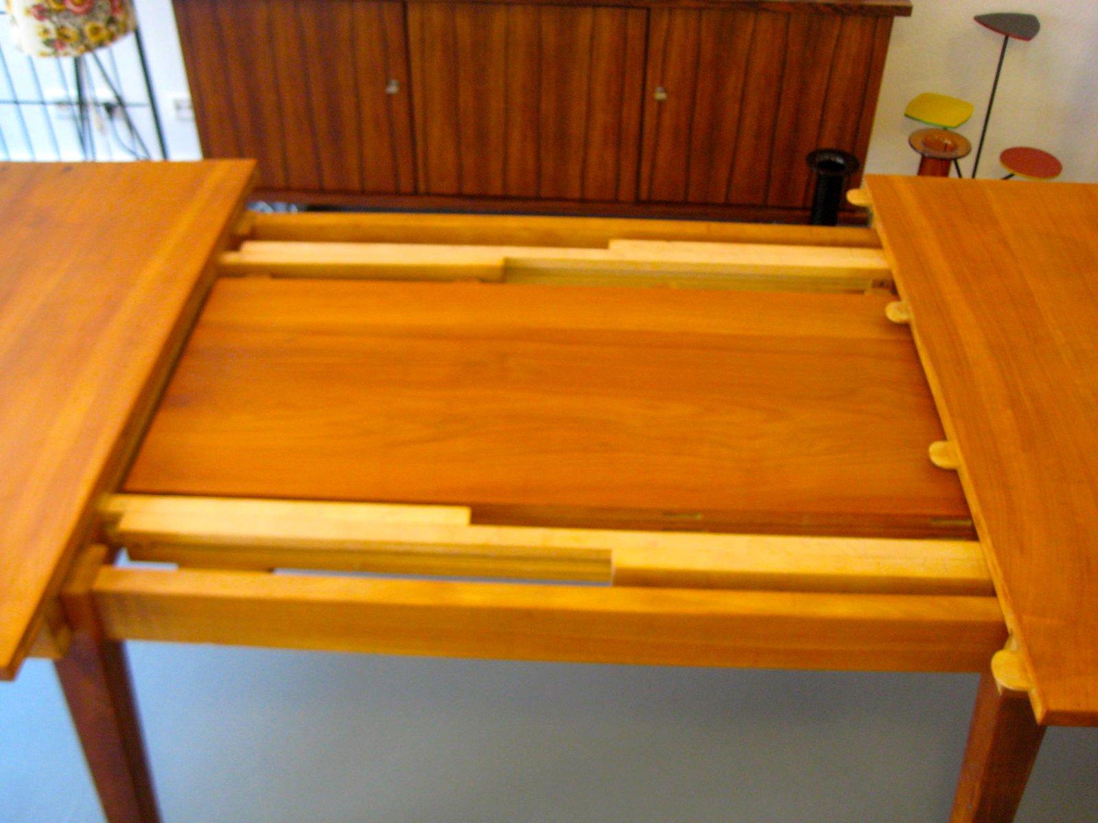 Vintage kirschbaumholz esszimmertisch bei pamono kaufen for Vintage esszimmertisch