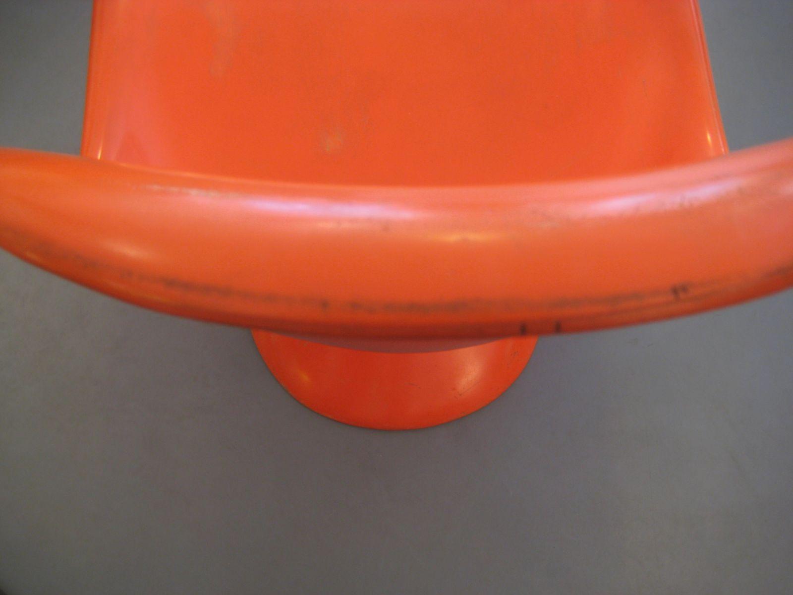 panton chair by verner panton for fehlbaum 1960s for sale. Black Bedroom Furniture Sets. Home Design Ideas