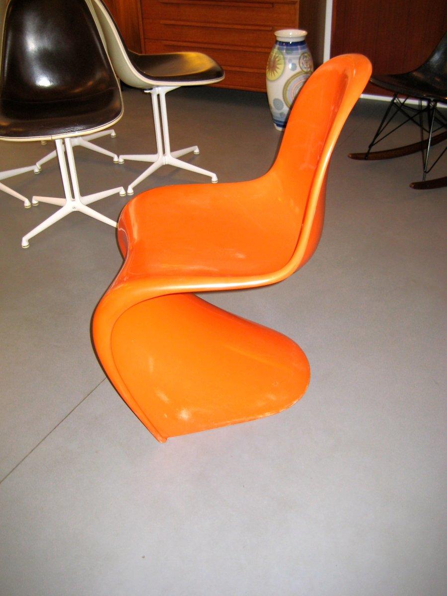 Original Panton Chair panton chair by verner panton for fehlbaum 1960s for sale at pamono