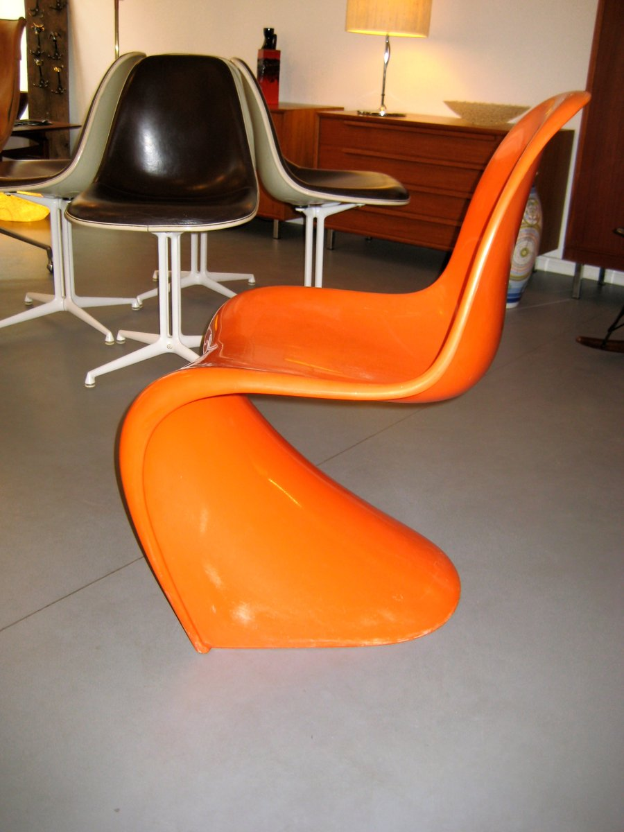 Panton Chair By Verner Panton For Fehlbaum, 1960s