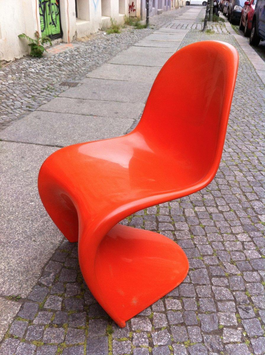 panton chair von verner panton f r fehlbaum 1960er bei pamono kaufen. Black Bedroom Furniture Sets. Home Design Ideas