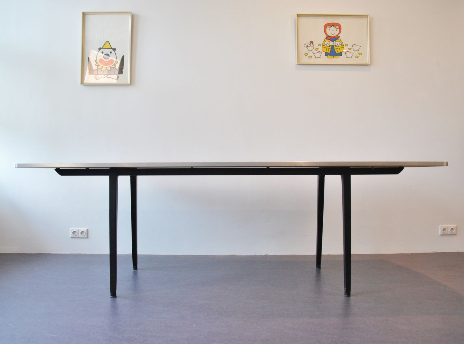 Revolt dining table by friso kramer for ahrend 1963 for sale at pamono - Kamer dining ...