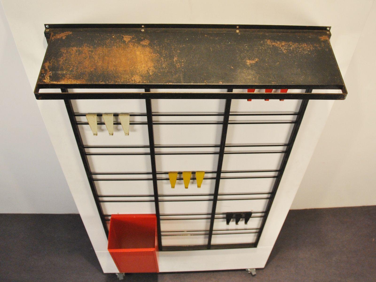 Servo muto coatrack by tjerk reijenga for pilastro 1950s - Servo muto design ...