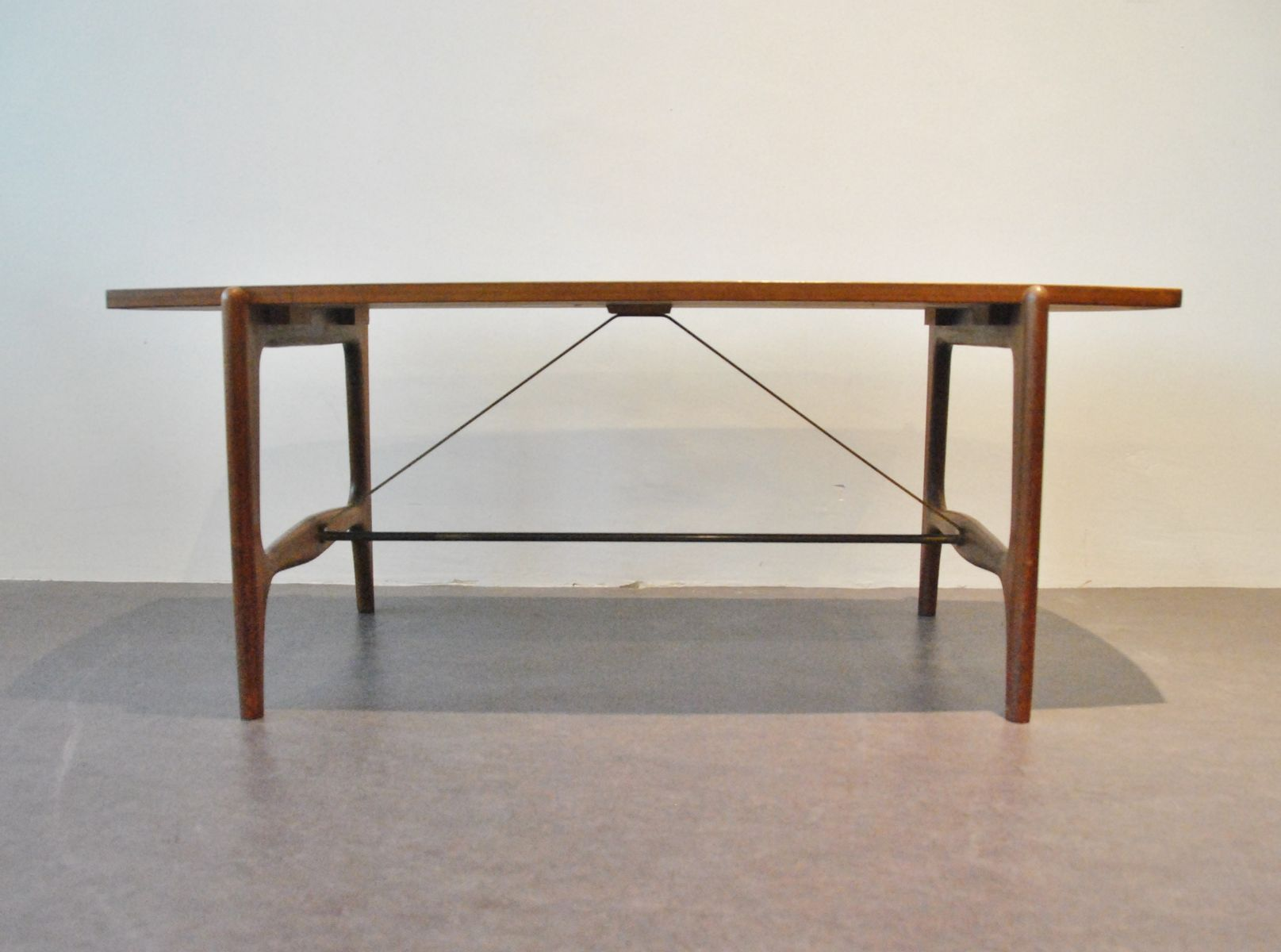 Scandinavian Wooden Coffee Table For Sale At Pamono