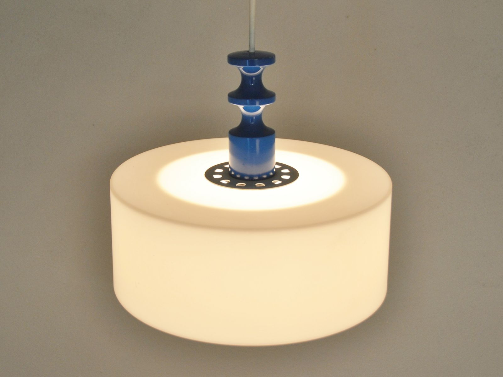 mid-century hanging lamp from luxus for sale at pamono - Luxus Raumausstattung Shop