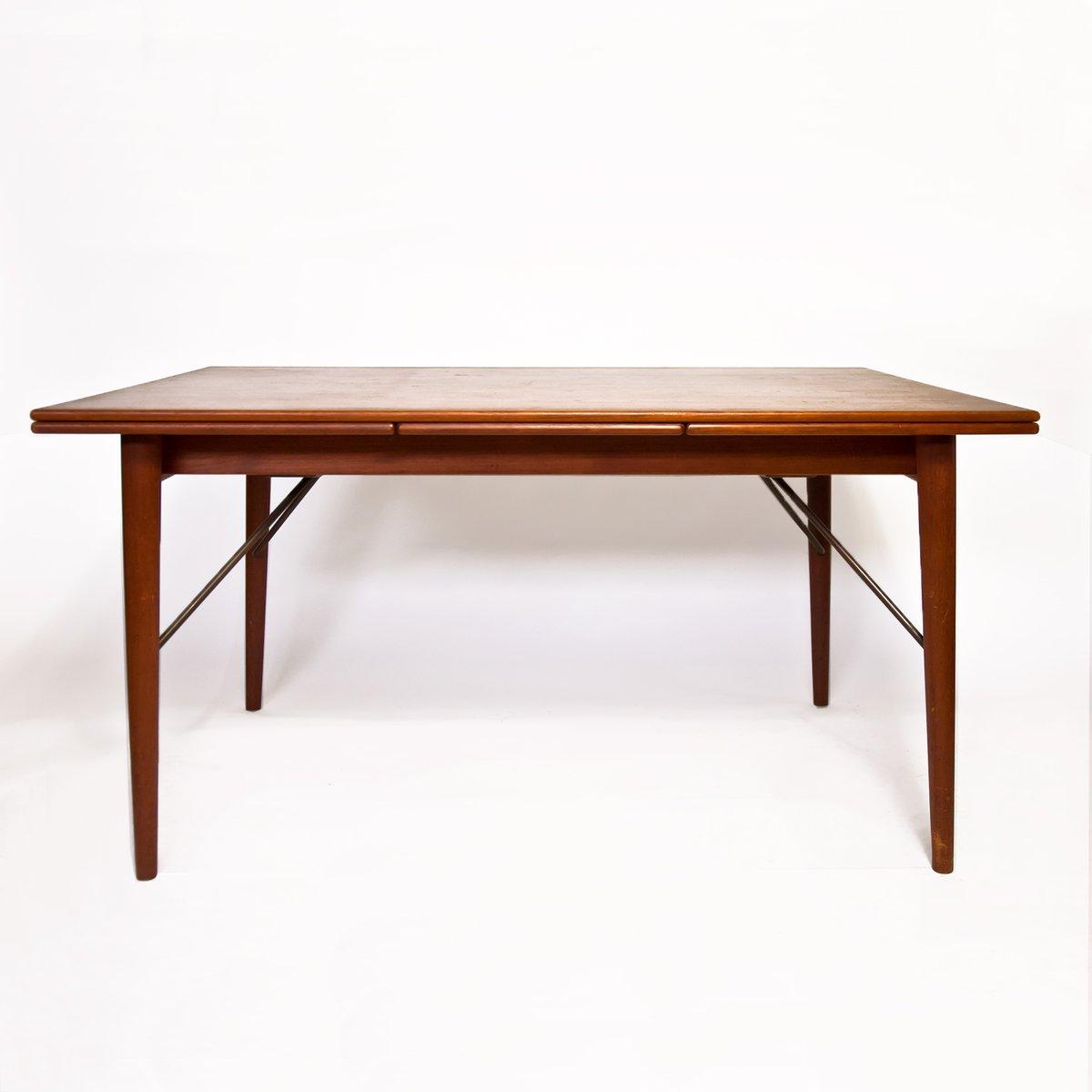 Scandinavian dining table by peter hvidt orla m lgaard nielsen for s borg m belfabrik for sale - Dining table scandinavian ...