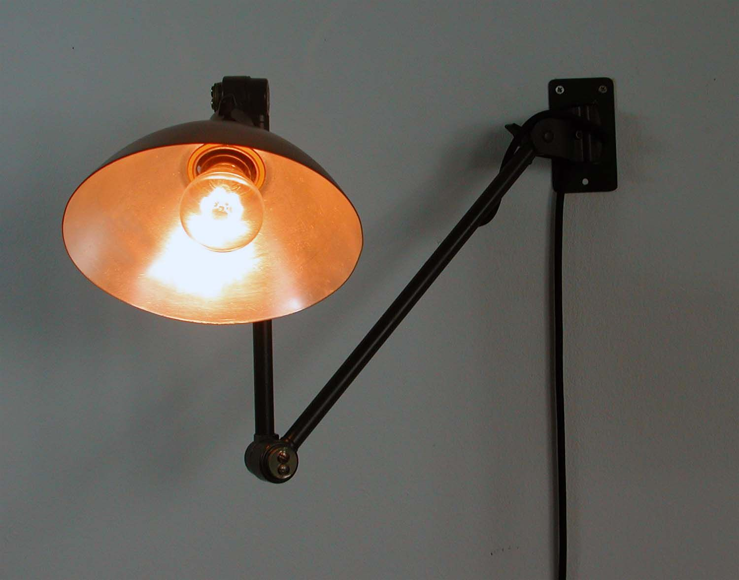 Wall Lamps Germany : MIDGARD Wall Lamp, Germany, 1950s for sale at Pamono