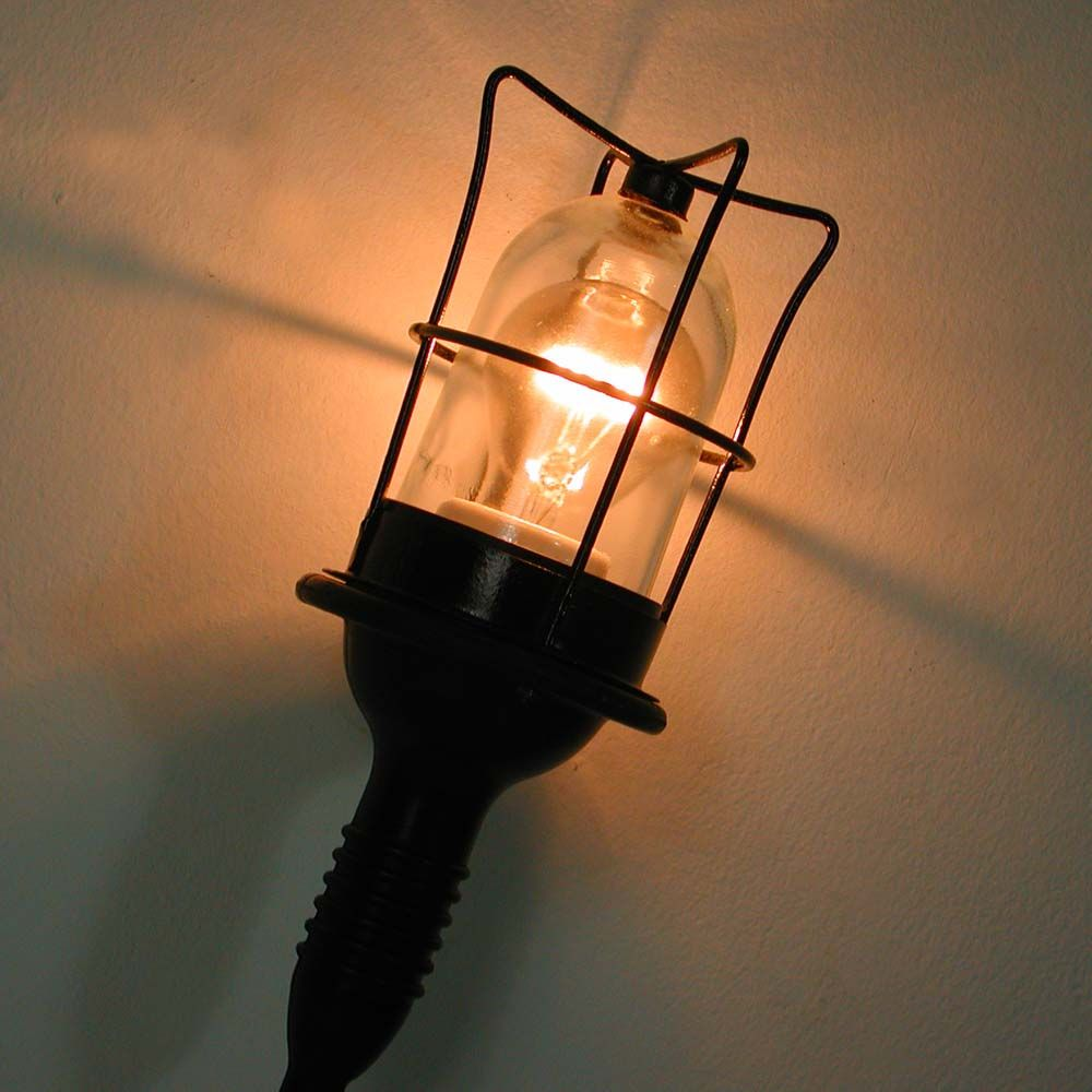 Vintage Industrial Wall Light, Germany, 1960s For Sale At